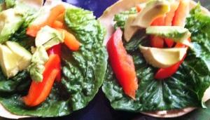veggie lettuce wrap